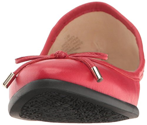 Mujer Bailarinas Nine Cuero Rojo Planas Quinney Leather West TxfYrfqI