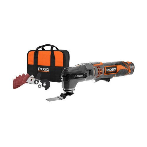 12V Cordless JobMax Multi-Tool with Tool-Free Head - Ridgid ZRR9700