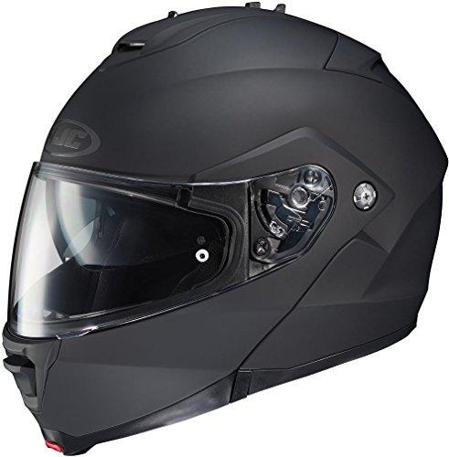 Max Full Face Modular Helmet (HJC IS-MAX 2 Full Face Modular Helmet Matte Black Small)