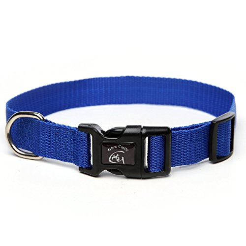 Saiger Classic Solid Basic Polyester Nylon Collar Lead Harness for Dog