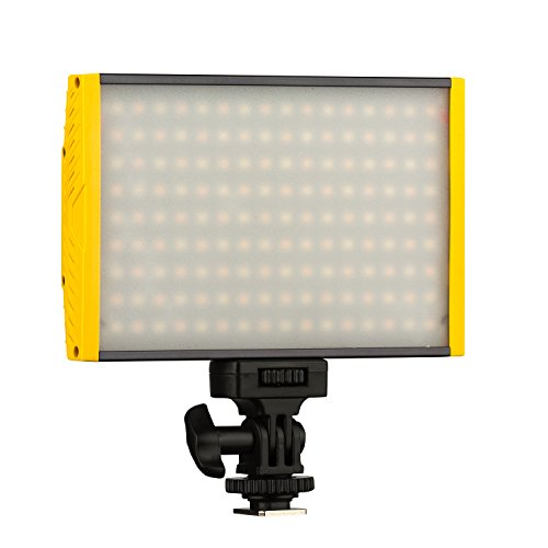 Ikan Onyx 120 Bi-Color Aluminum On Camera LED Light, Black (Light Onyx)
