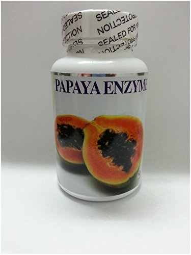 Enzima de papaya 60 comprimidos apoyo digestivo digestión, estómago agrio