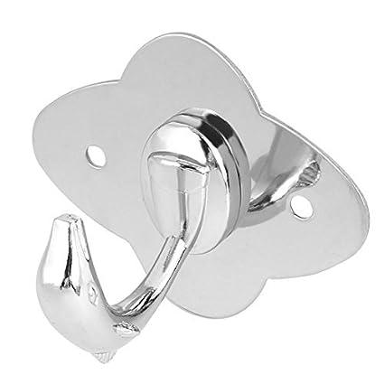 eDealMax ropa de baño Escudo Forma Individual Percha Dolphin ...