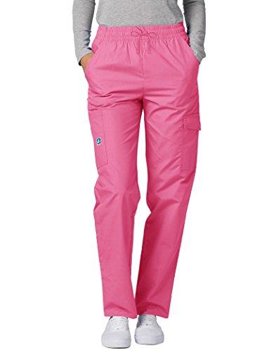 Donna Camice Uniforme Da Ospedale Medico Rosa Adar geranium Pantaloni Iwqg5xXA