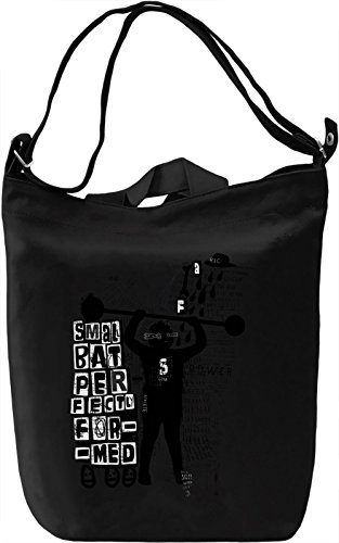 Strong kid Borsa Giornaliera Canvas Canvas Day Bag| 100% Premium Cotton Canvas| DTG Printing|