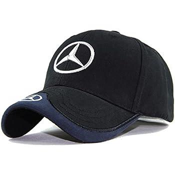 fd0115004b5fd monochef Auto sport Car Logo Black Baseball Cap F1 Racing Hat (Benz)
