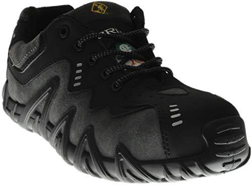 (Terra Men's Spider Work Shoe, Black, 7 M US)