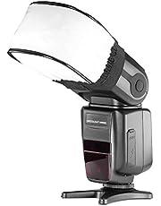 Neewer® Pro Universal Soft Mini Flash Bounce Diffuser Cap voor On Camera of Off Camera Flash Gun, voor Canon, Nikon, Sunpak, Vivita Flash, Nissin, Sigma, Sony, Pentax, Olympus, Panasonic Lumix Flashes