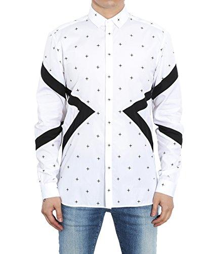 wiberlux-neil-barrett-mens-geometric-panel-with-mini-cross-pattern-shirt-39-white