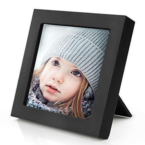 Home Margo, 4x4 Frames, Black Picture Frame Instagram Photo Collage Frame,  Set of 9, 4 Inch Square Small Picture Frames