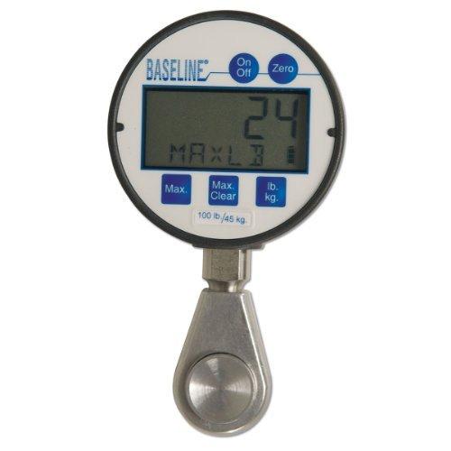 Baseline 12-0237 Digital Hydraulic Pinch Gauge with LCD Display, 100 lbs ()