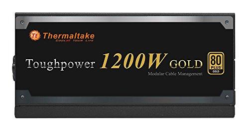 Thermaltake Toughpower 1200W 80+ Gold Semi Modular ATX 12V/EPS 12V Power Supply 5 YR Warranty PS-TPD-1200MPCGUS-1 by Thermaltake (Image #3)