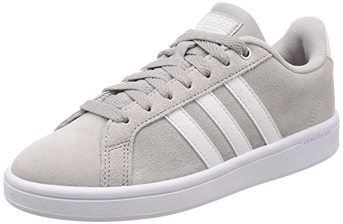 adidas Damen Cloudfoam Advantage Fitnessschuhe Grau (Grey Two F17/ftwr White/matte Silver Grey Two F17/ftwr White/matte Silver)