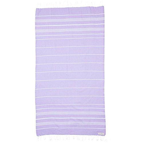 Sand Cloud Beach Towel Blanket Large - As Seen On Shark Tank (Lilac Blossom)