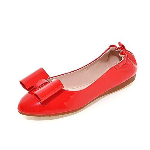moda zapatos de señora rollo de huevo/Versión coreana de arco zapatos de fondo suave/zapatos puntiagudos de superficiales A