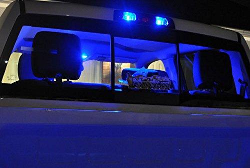 iJDMTOY (2) Sparking Blue 10-SMD 921 912 920 168 T10 LED