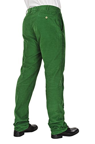 Incotex Pantalon Homme 34 Vert / Courtoy Taille normale Coupe droite R