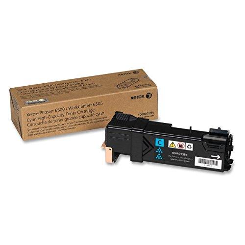 Xerox Phaser 6500 High Yield Toner Set 106R01594, 106R01595, 106R01596, 106R01597