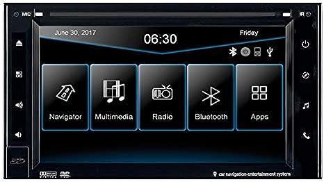 Esx Naviceiver Vn620w 2din Navi Inkl Tmc Mit Einbauset Für Honda Jazz Gg Gp1 Ab 04 2011 Navigation