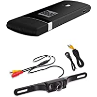 Dual Electronics DMH25 Multimedia HDMI/USB Wi-Fi Dongle for Wireless Networks With CAM100 Mini Color Rearview Camera