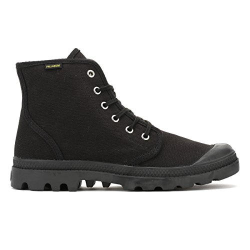 U Adulto Nero Alto Collo Unisex Orig Palladium Sneaker Pampa Hi a zqCvw