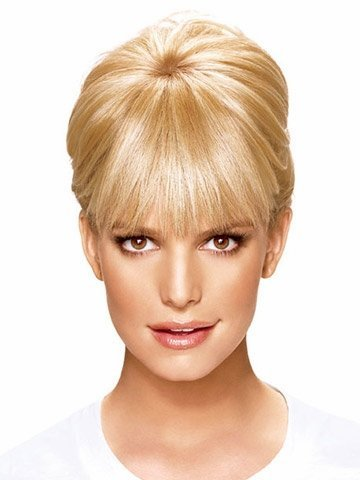 - Hairdo Clip-In Bangs by Jessica Simpson and Ken Paves = R29S == Glazed Strawberry/Red Blonde