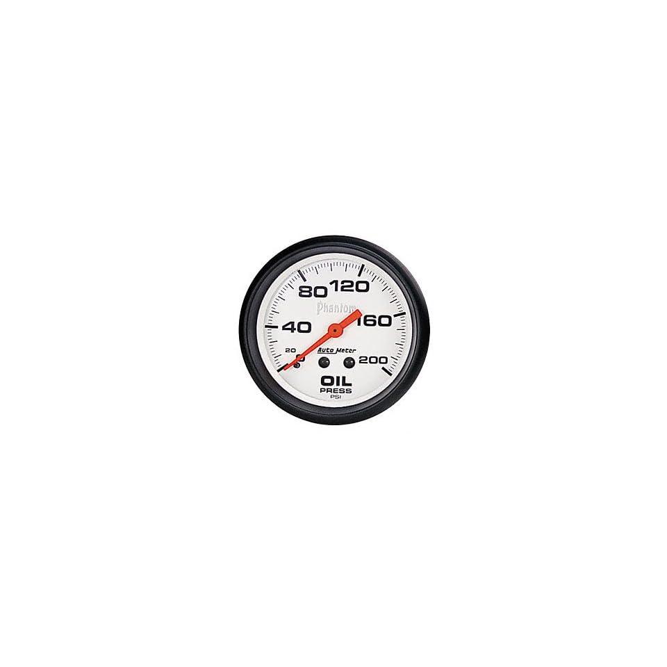 Auto Meter 5822 Phantom Mechanical Oil Pressure Gauge