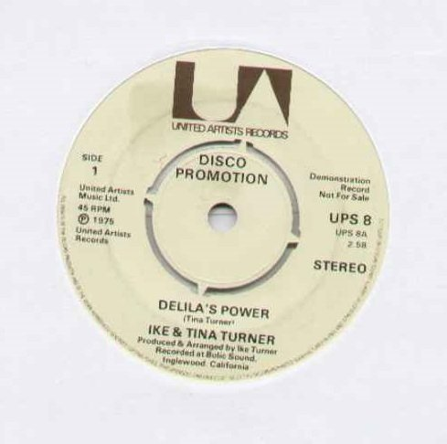 TINA TURNER - DELILA'S POWER - 7 inch vinyl / 45 ()