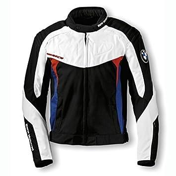 Original BMW Motorrad de moto chaqueta negro, blanco, azul y ...