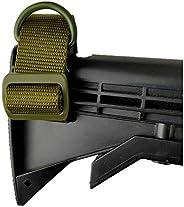 3 Pack Rifle Sling Attachment Strap Universal Gun Sling Adjustable Nylon Webbing 1.25 inch