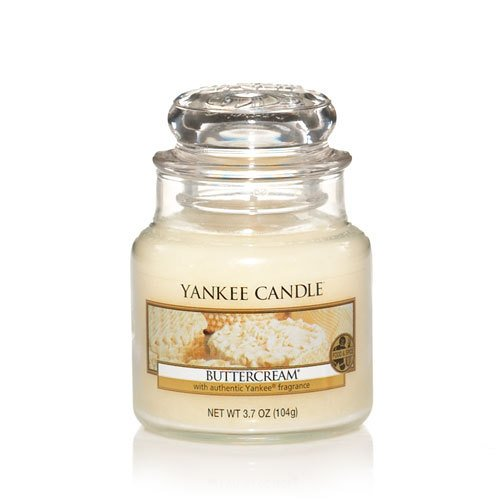 Yankee Candle Buttercream Small Jar Candle, Food & Spice (Small Classic Candle Jar)