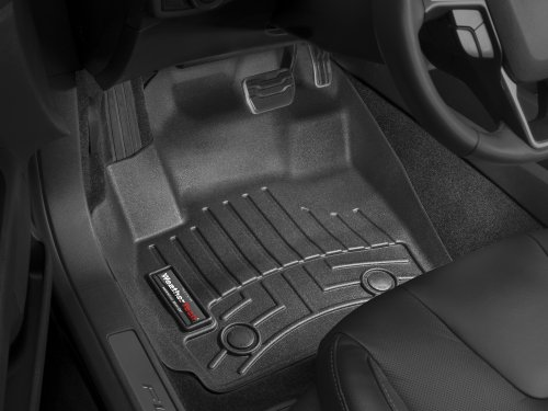 Ford Fusion Weathertech Floor (2013-2016 Ford Fusion Black WeatherTech Floor Liners [Front Set] (For Automatic Transmissions Only))