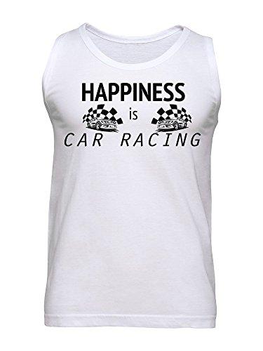 Happiness Is Car Racing Men's Tank Top