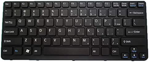 Laptop Keyboard for Sony VAIO SVE141 9Z.N6BBQ.M01 149172812US V134046-US English US Black with Frame Backlit