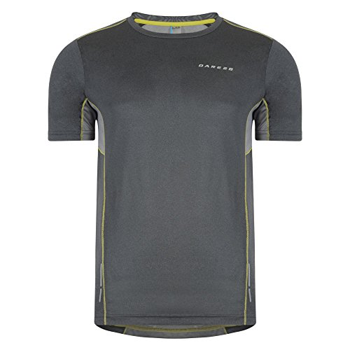 Dare 2b Mens Unified Active Short Sleeve Technical T-Shirt (S US) (Grey (Dare S/s Tee)