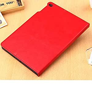 HPT Smooth Pattern PU Leather Case with Stand with Card Holder for iPad Air 2/iPad 6 (Color Random)