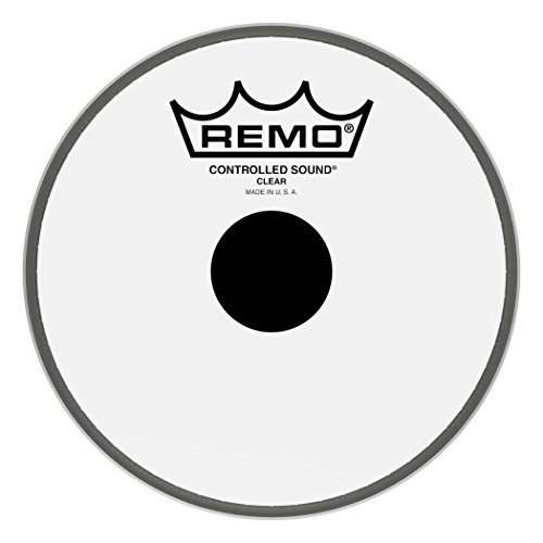 Remo Controlled Sound Clear Black Dot Drumhead - Top Black Dot, 6
