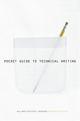 Pocket Guide to Technical Writing Canadian Edition