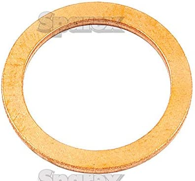 OD: 26mm Copper Washer Thickness: 1.5mm. ID: 21mm