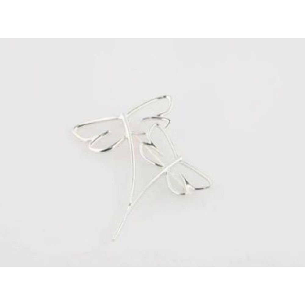 Bonyak Jewelry Sterling Silver Dragonfly Brooch