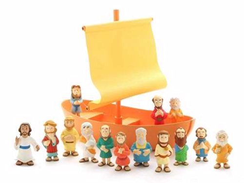 Galilee Boat 15 Piece Playset by BibleToys (Old Man And The Sea Boat Name)