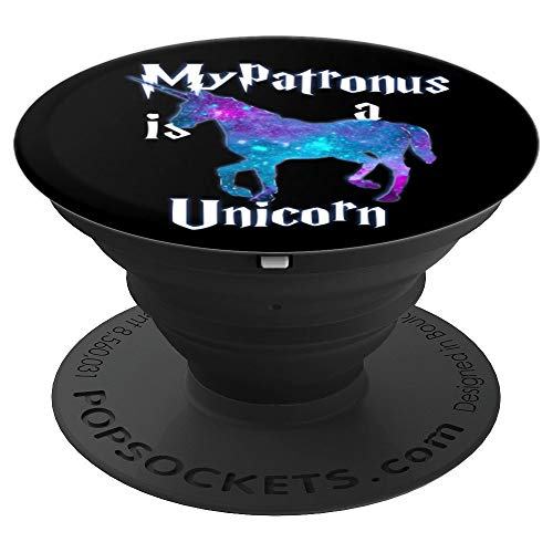 My Patronus is a Unicorn - Cute and adorable Gift - PopSockets Grip and Stand for Phones and Tablets