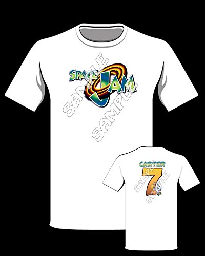 Space Jam themed Personalized Shirt by Modd Co, Personalized T-shirts and MORE!