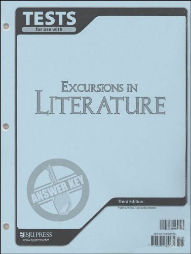 Read Online Excursions in Literature Test Pack Answer Key 3rd Edition ebook