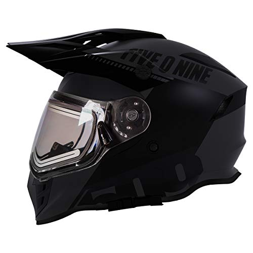 snowmobile helmets heated shield - 3