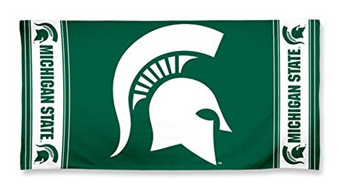 NCAA Michigan State Spartans Beach Towel, Team Color, One Size