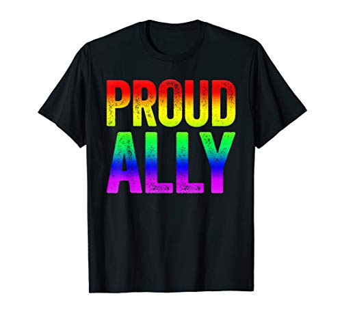 Proud Ally T-Shirt LGBT Pride Gift]()