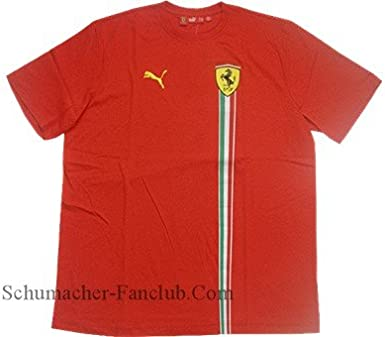 Amazon.com: Puma Ferrari T-Shirt - Red: Clothing