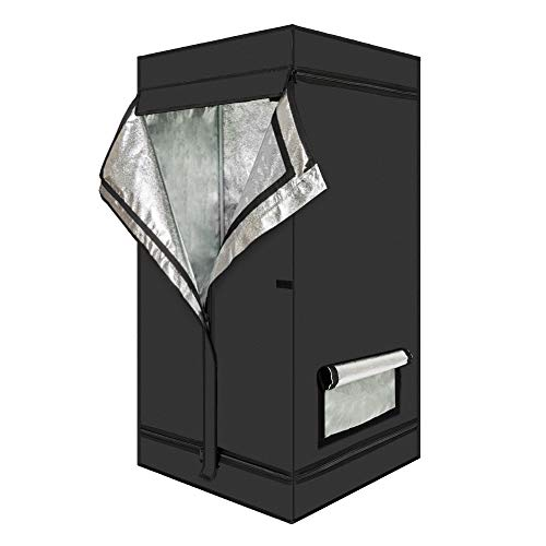 Oshion 24''x 24''x 48'' Indoor Mylar Hydroponics Grow Tent Room by Oshion (Image #2)