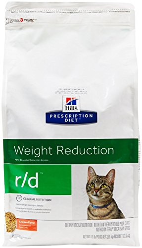 Hill's Prescription Diet r/d Feline Weight Loss - Low Calorie - 8.5lb (Best Low Calorie Diet For Weight Loss)